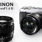 Fujifilm annonce l'objectif XF23mm