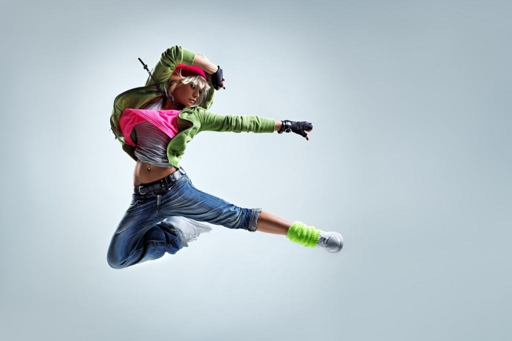 Danseuse de hip-hop. © Alexander Yakovlev – Fotolia