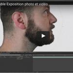 La double exposition photo et vidéo