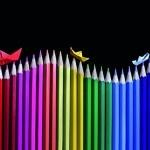 Astuce // Être créatif avec des crayons de couleurs