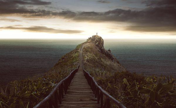 Le chemin vers le rocher. © Lassedesignen – Adobe Stock