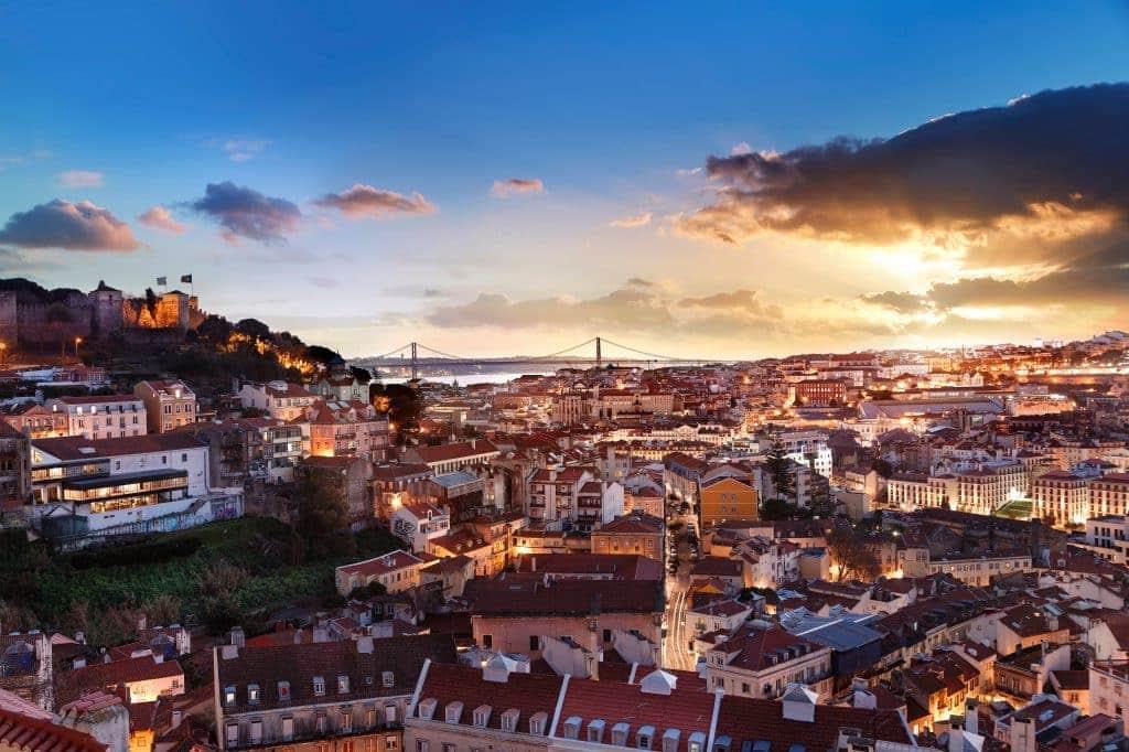 Mirador de Graça Lisbonne Portugal