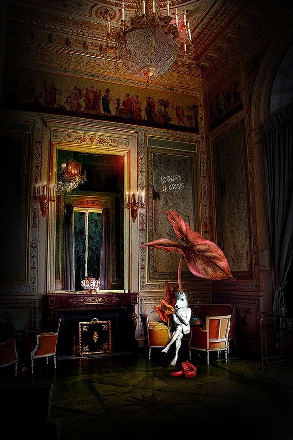 Marie B. CROS - ANIMALFACTORY@SHANGRI LA HOTEL 100 x 66cm - Art digital