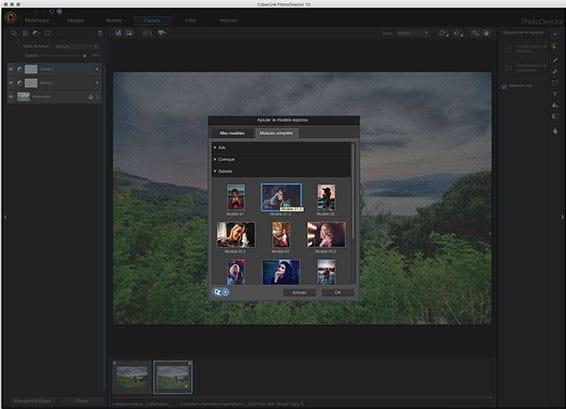 PhotoDirector Exemple