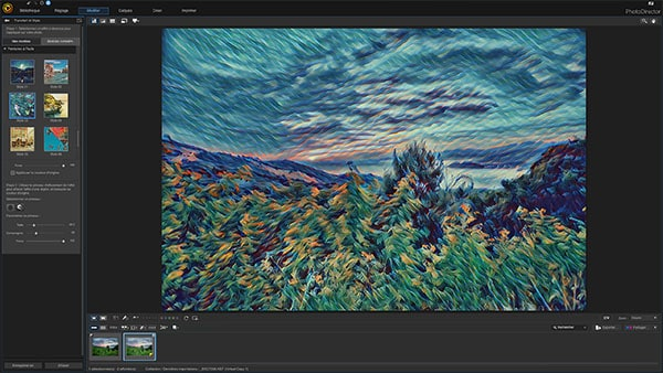 PhotoDirector Style AI