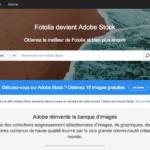 Fotolia et Adobe Stock : la migration démarre